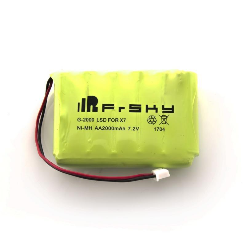 Batterie FrSky pour Taranis Q X7 2000mAh