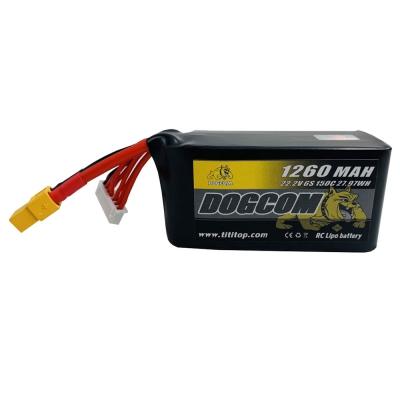 Dogcom 6S 1260mAh 150C