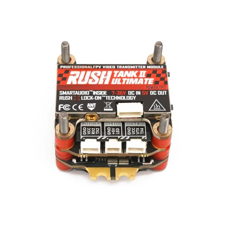 RushFPV Blade F722 Stack & ESC 4in1 60A 3-6S BLHeli_32 for Analog & Rush Tank Ⅱ VTX