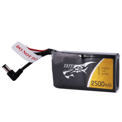 Tattu 2S 2500mAh 3C pour lunettes FatShark