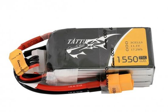 Tattu 3S 1550mAh 75C