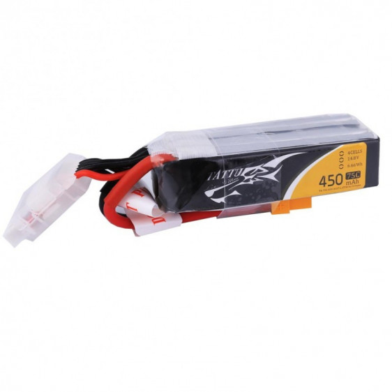 Tattu 4S 450mAh 75C - Long size