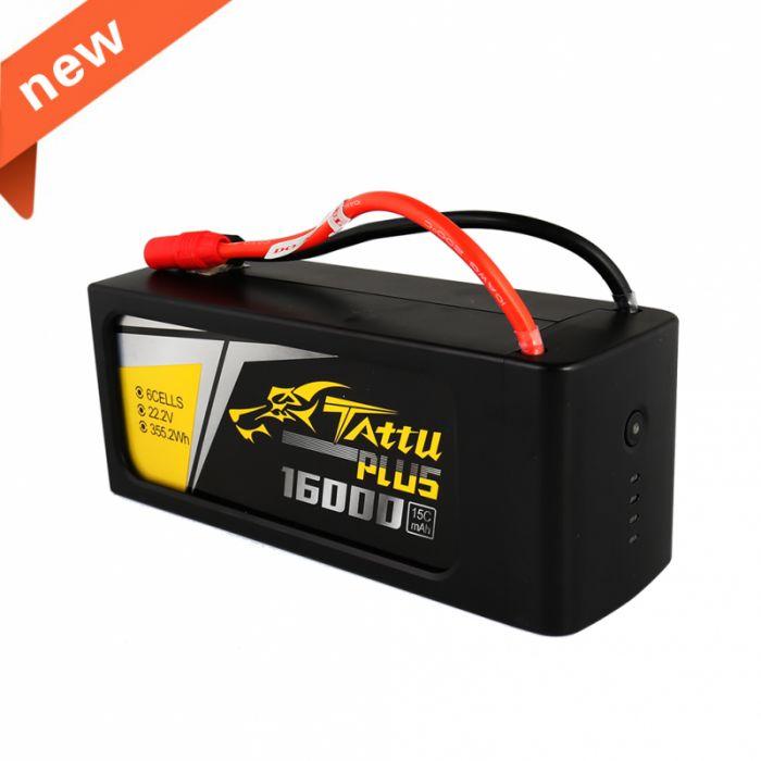 Tattu Plus 6S 16000mAh 15C
