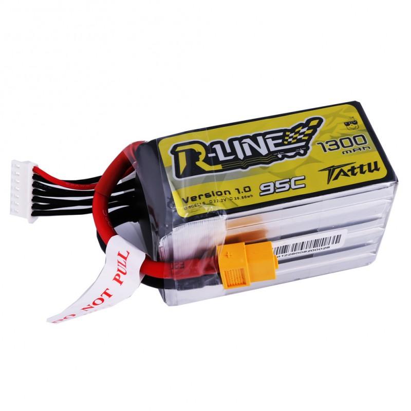 Tattu R-Line 6S 1300mAh 95C