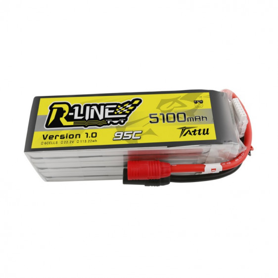 Tattu R-Line 6S 5100mAh 95C