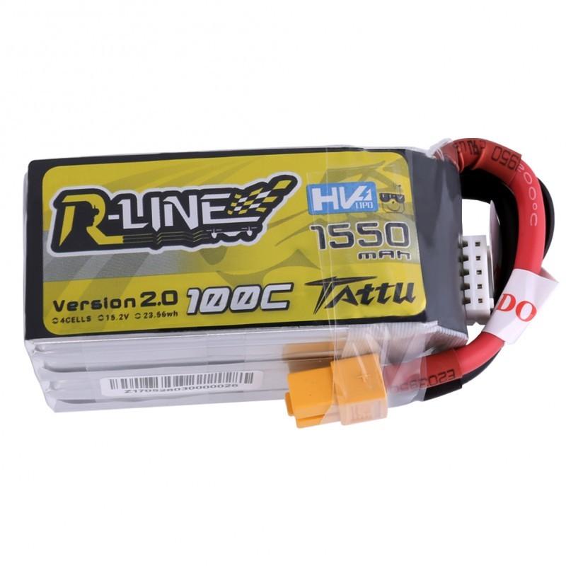 Tattu R-Line V2 4S HV 1550mAh 100C