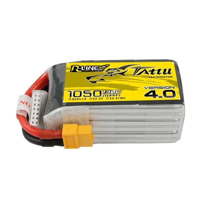 Tattu R-Line V4 6S 1050mAh 130C